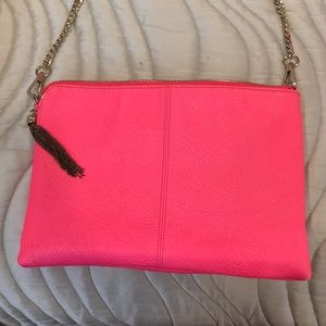 Pink envelope purse